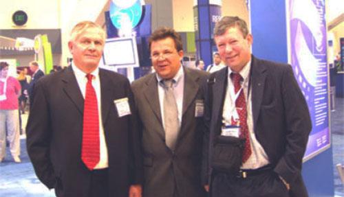 С.И. Анисимов с американскими коллегами на международном конгрессе ASCRS в Сан-Франциско